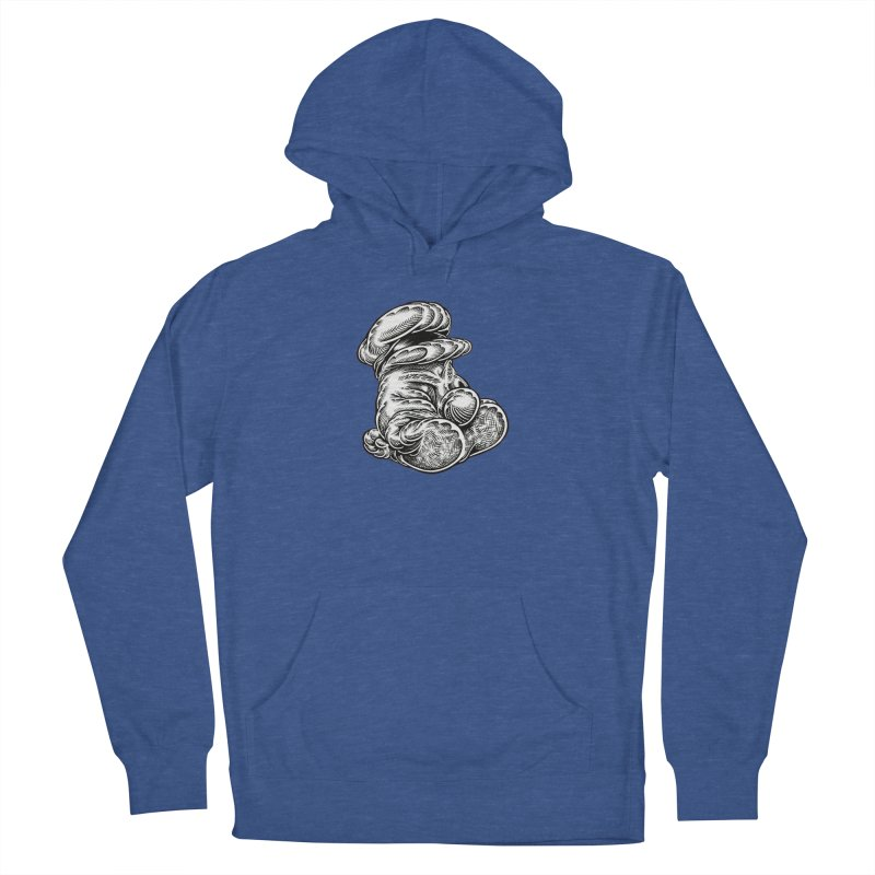 I yam. Men's French Terry Pullover Hoody by Mark Dean Veca
