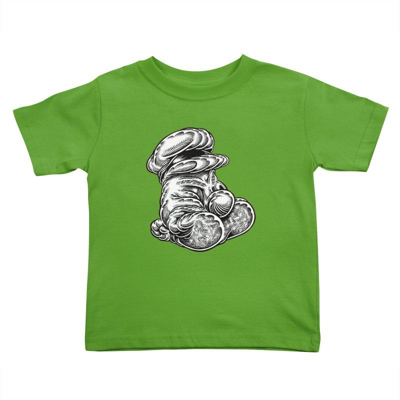 I yam. Kids Toddler T-Shirt by Mark Dean Veca