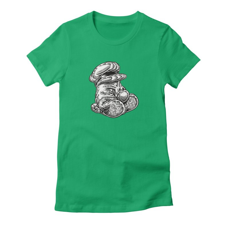 I yam. Women's T-Shirt by Mark Dean Veca