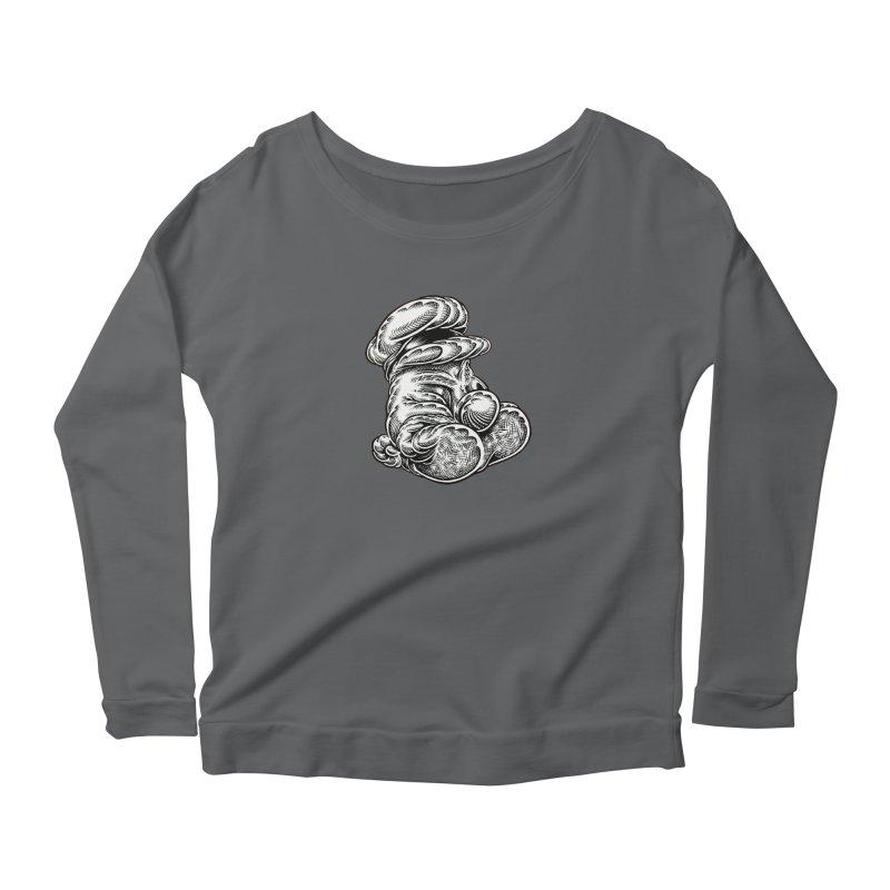 I yam. Women's Longsleeve T-Shirt by Mark Dean Veca