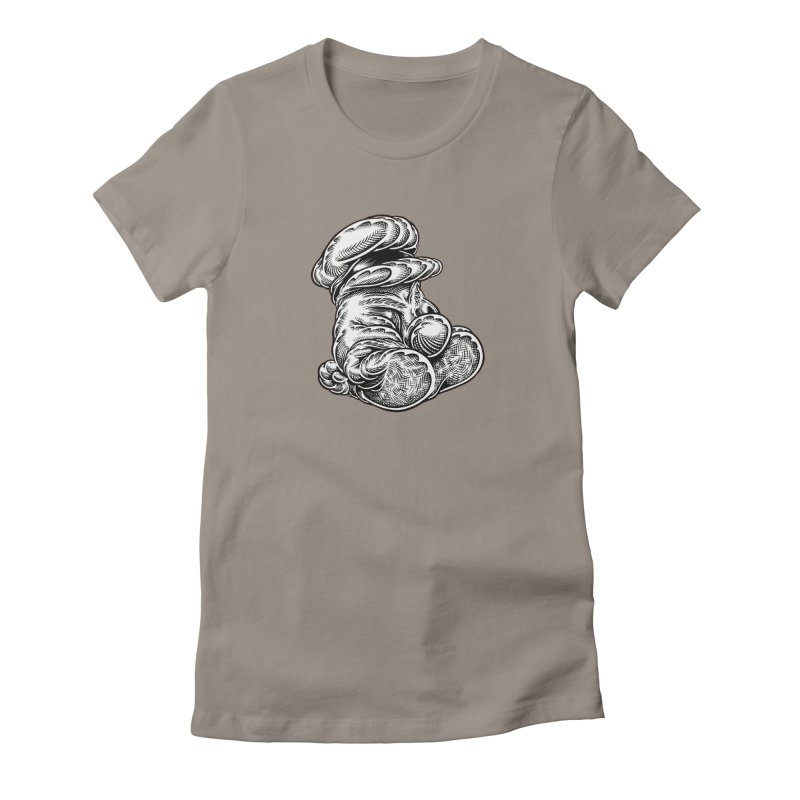I yam. Women's Fitted T-Shirt by Mark Dean Veca