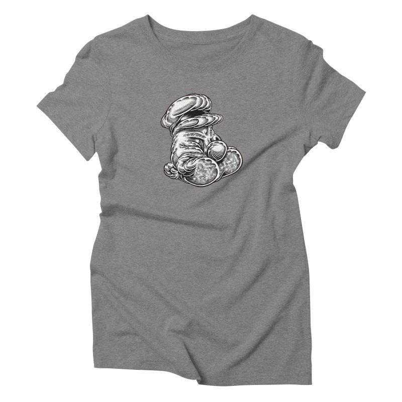 I yam. Women's Triblend T-Shirt by Mark Dean Veca