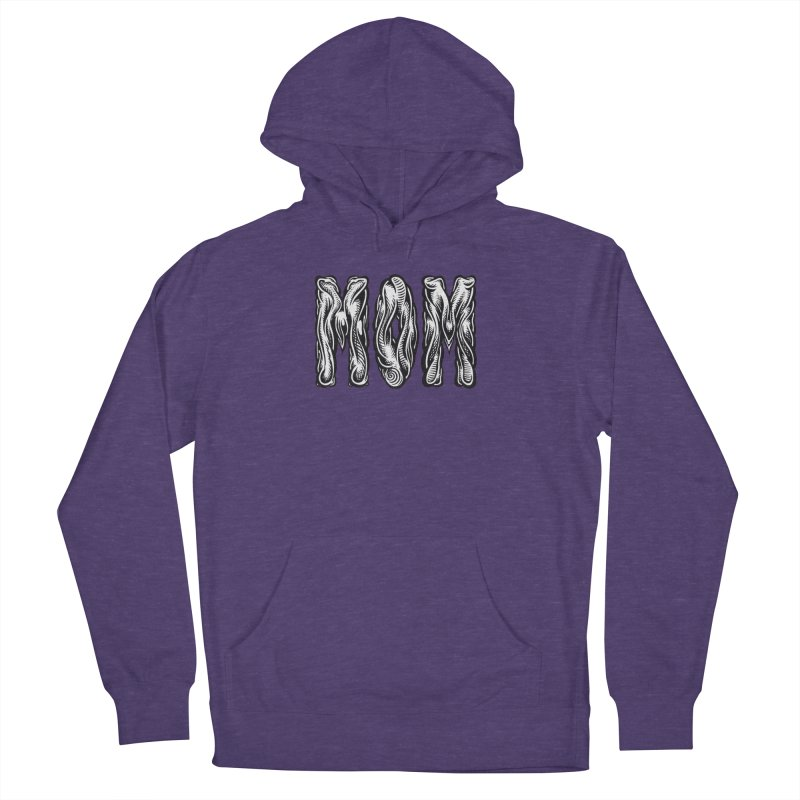 MOM Women's French Terry Pullover Hoody by Mark Dean Veca