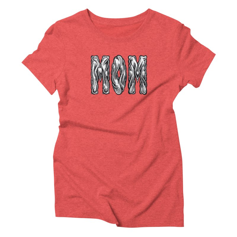 MOM Women's Triblend T-Shirt by Mark Dean Veca