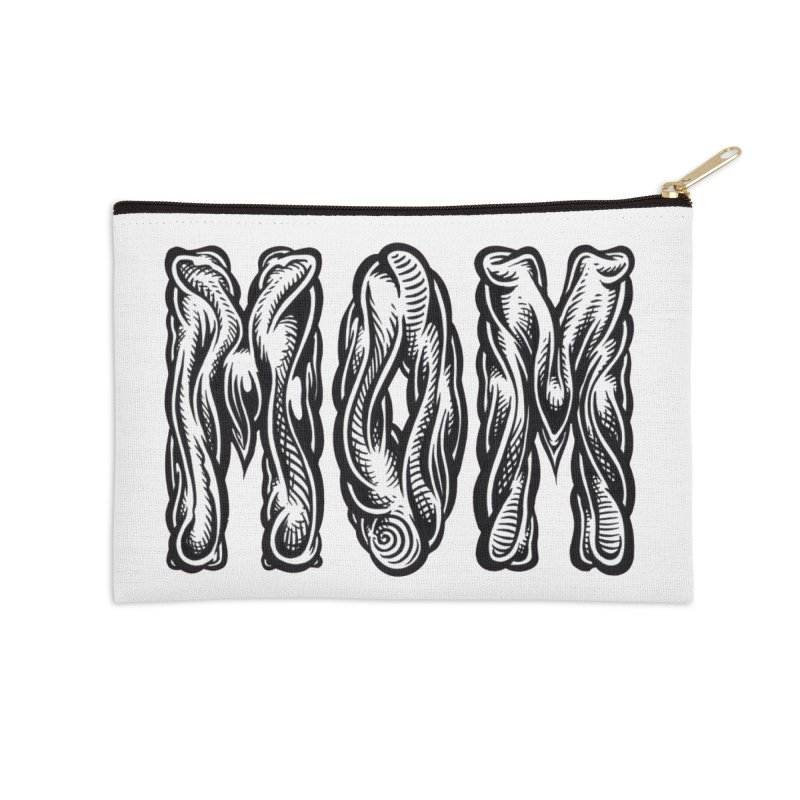 MOM Accessories Zip Pouch by Mark Dean Veca