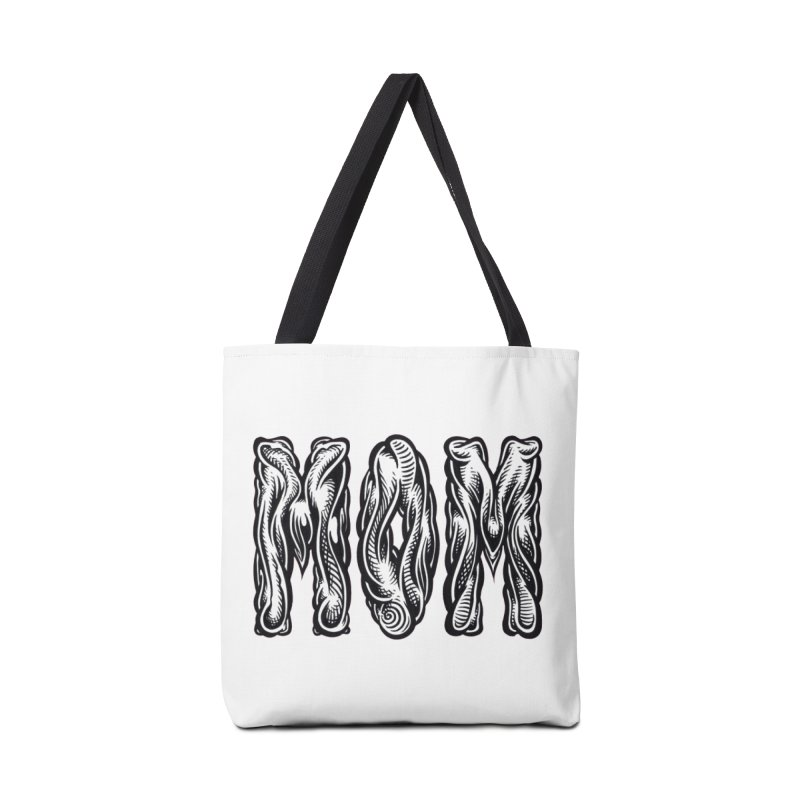 MOM Accessories Tote Bag Bag by Mark Dean Veca