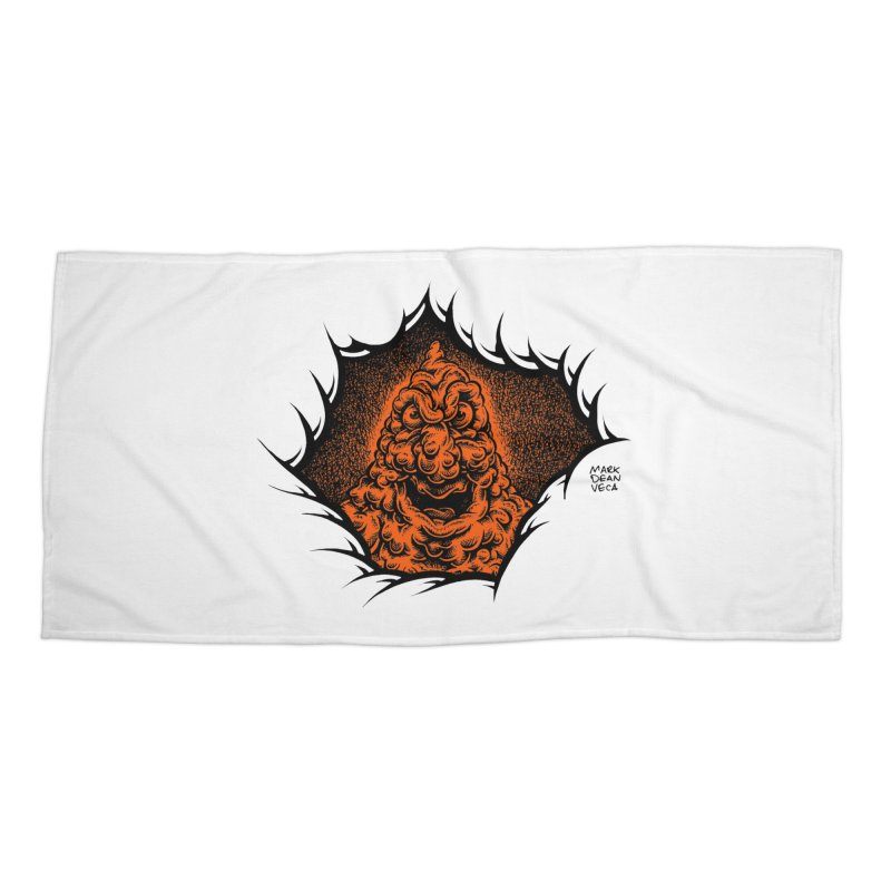Boogeyman Accessories Beach Towel by Mark Dean Veca