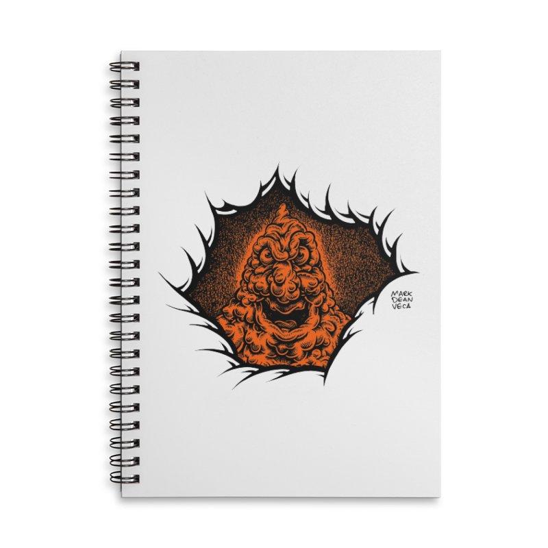Boogeyman Accessories Notebook by Mark Dean Veca