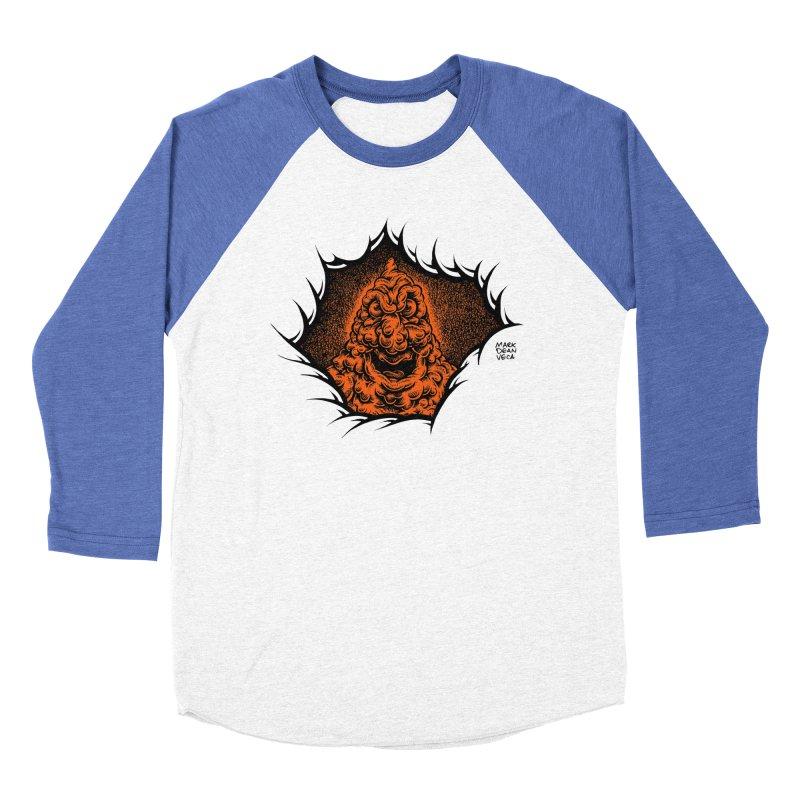 Boogeyman Men's Baseball Triblend Longsleeve T-Shirt by Mark Dean Veca