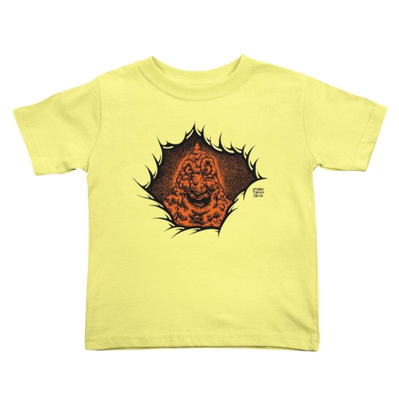 Boogeyman Kids Toddler T-Shirt by Mark Dean Veca