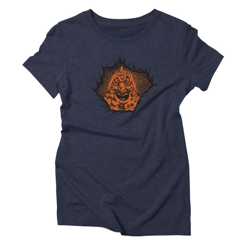 Boogeyman Women's Triblend T-Shirt by Mark Dean Veca