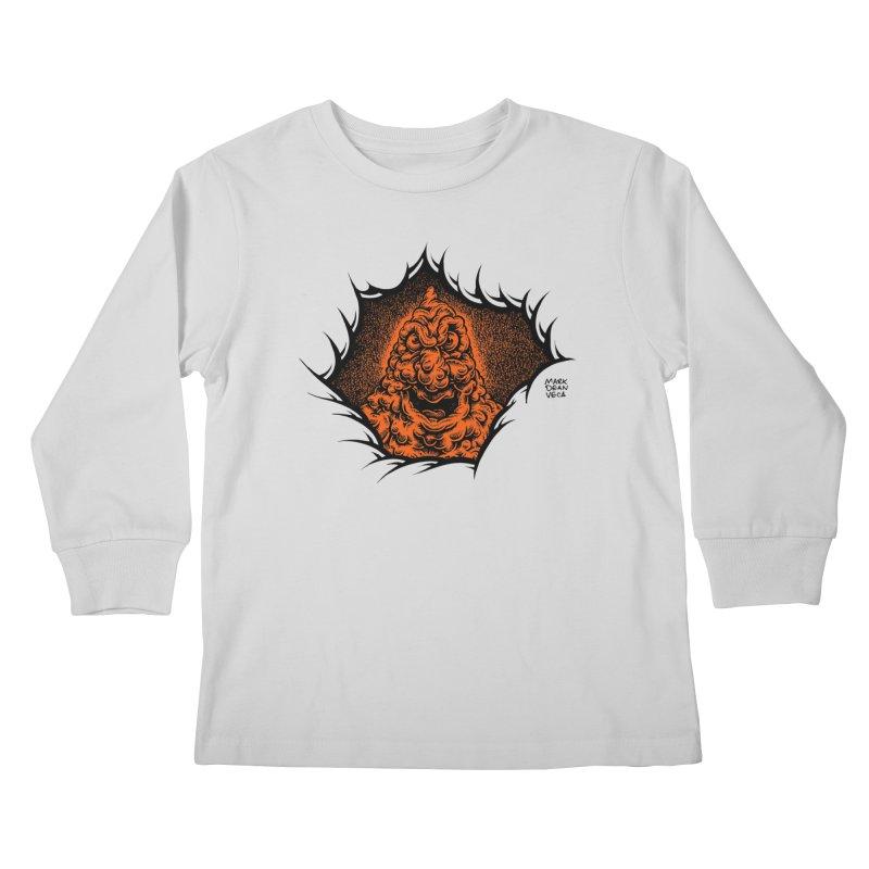 Boogeyman Kids Longsleeve T-Shirt by Mark Dean Veca