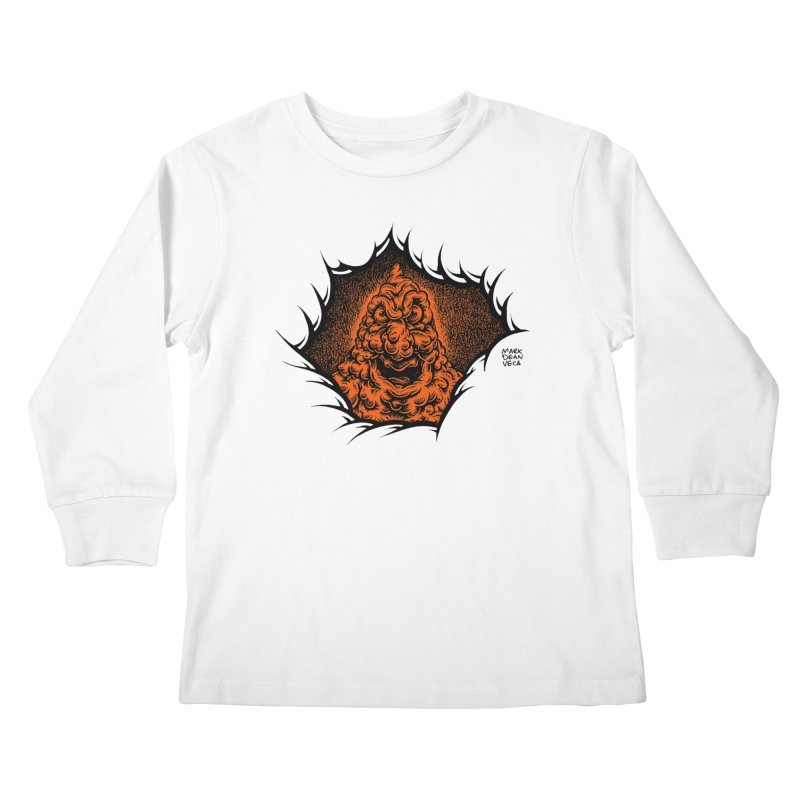 Boogeyman Kids Longsleeve T-Shirt by Mark Dean Veca