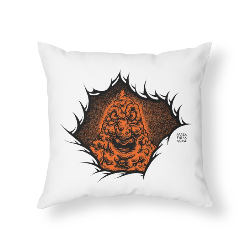 Boogeyman Home Throw Pillow by Mark Dean Veca