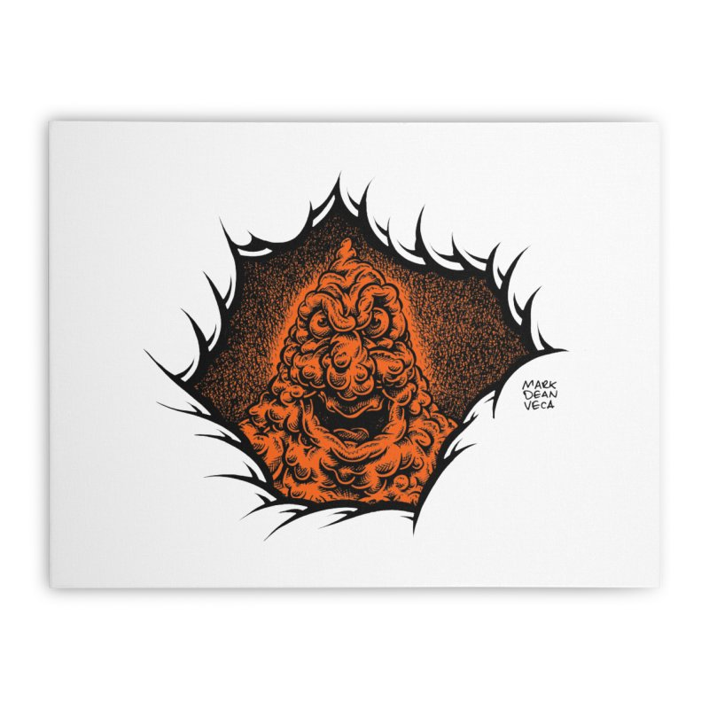 Boogeyman Home Stretched Canvas by Mark Dean Veca
