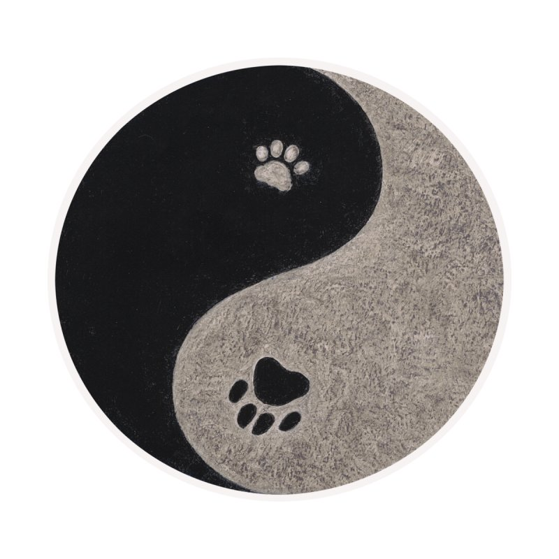Yin Yang Paws by MarlaenaShannon's Artist Shop