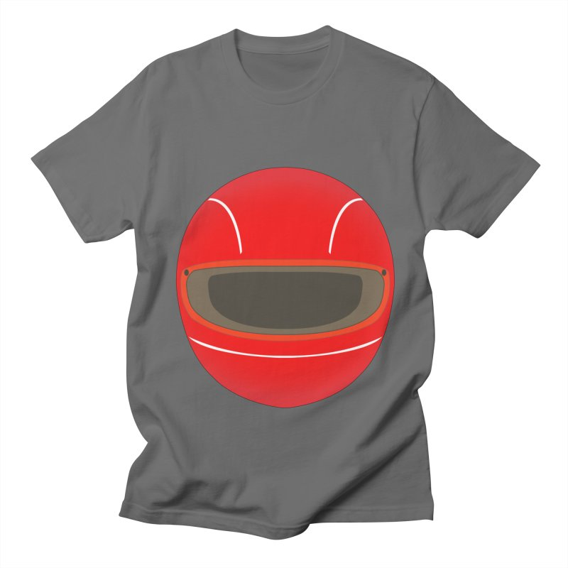 Racing Helmet Men's T-Shirt by MaroDek's Artist Shop