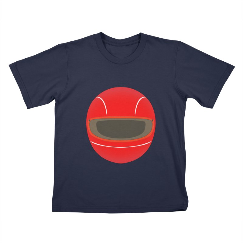 Racing Helmet Kids T-Shirt by MaroDek's Artist Shop