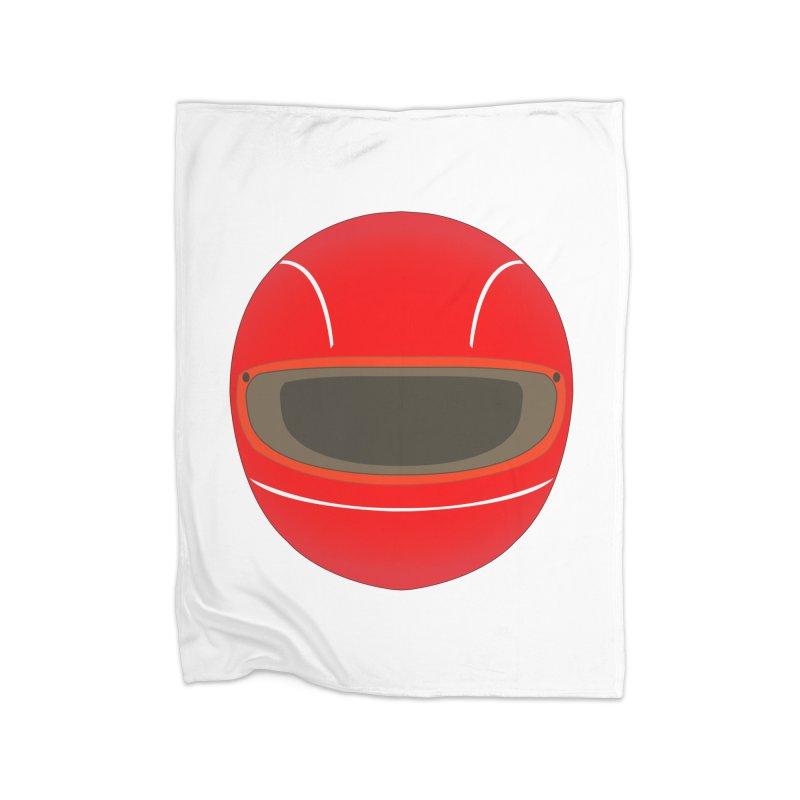 Racing Helmet Home Blanket by MaroDek's Artist Shop