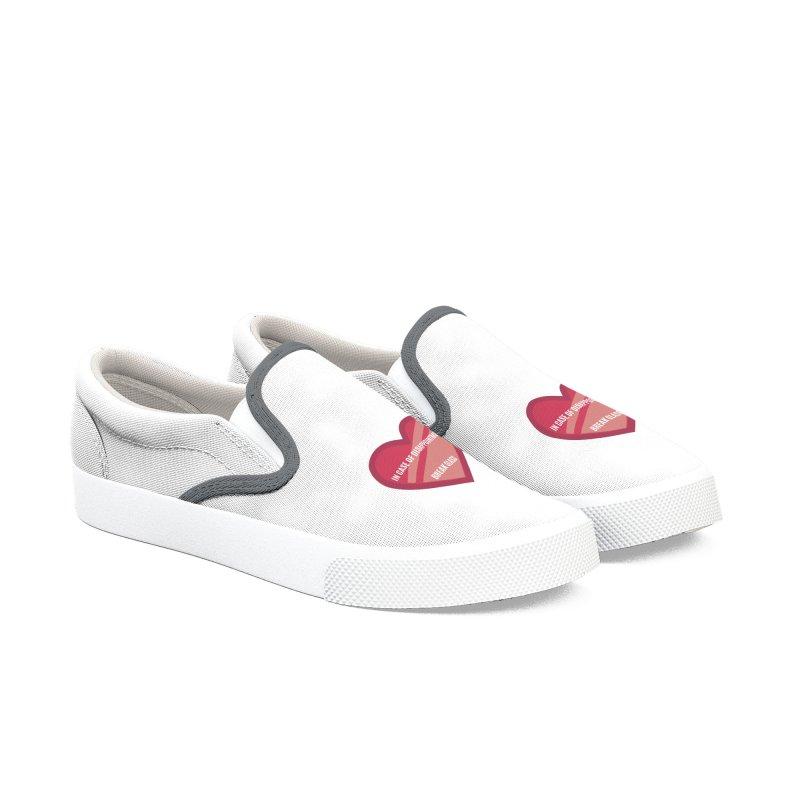 Break In Case Of Disappointment Men's Shoes by MaroDek's Artist Shop