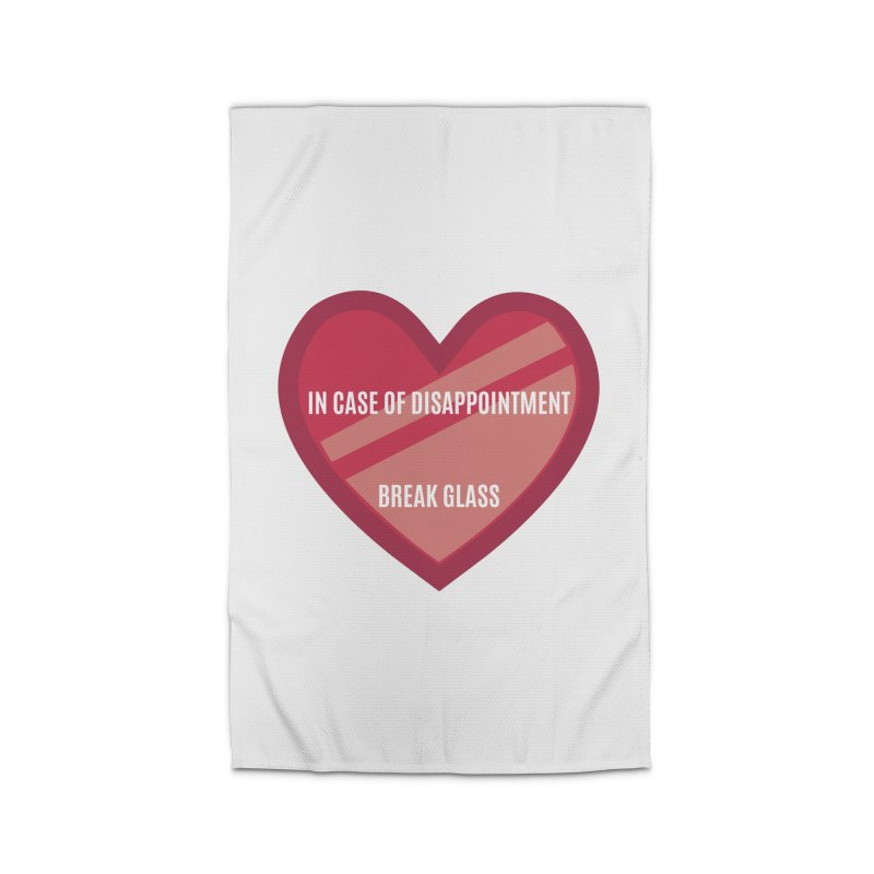 Break In Case Of Disappointment Home Rug by MaroDek's Artist Shop
