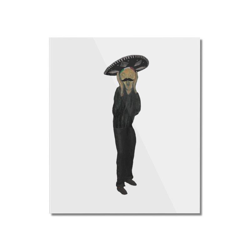 El Grito Home Mounted Acrylic Print by MaroDek's Artist Shop