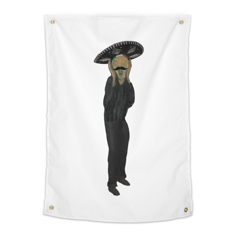 El Grito Home Tapestry by MaroDek's Artist Shop