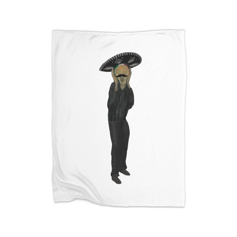 El Grito Home Blanket by MaroDek's Artist Shop