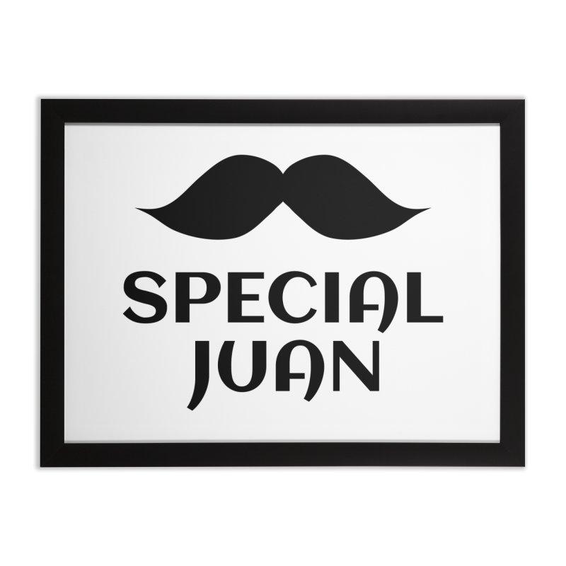 Special Juan Home Framed Fine Art Print by MaroDek's Artist Shop