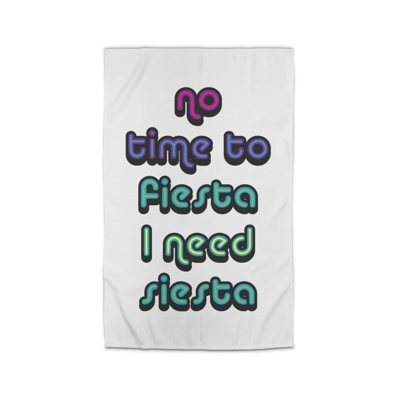 No Time To Fiesta Home Rug by MaroDek's Artist Shop