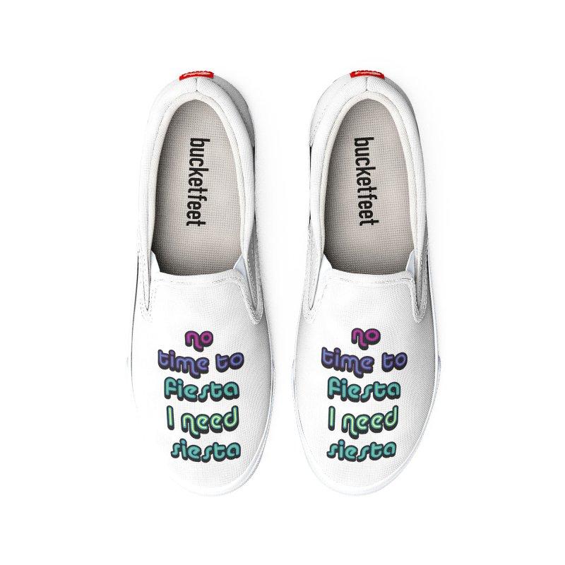 No Time To Fiesta Men's Shoes by MaroDek's Artist Shop