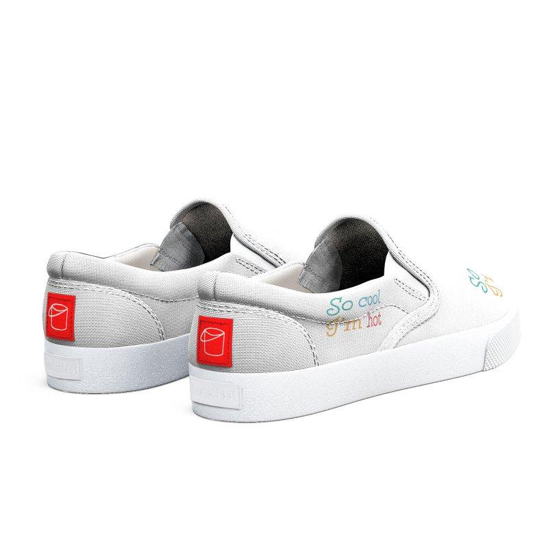 So Cool I'm Hot Men's Shoes by MaroDek's Artist Shop
