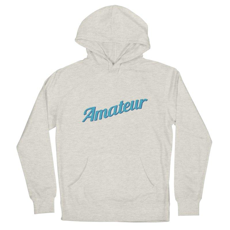 Amateur Men's Pullover Hoody by MaroDek's Artist Shop