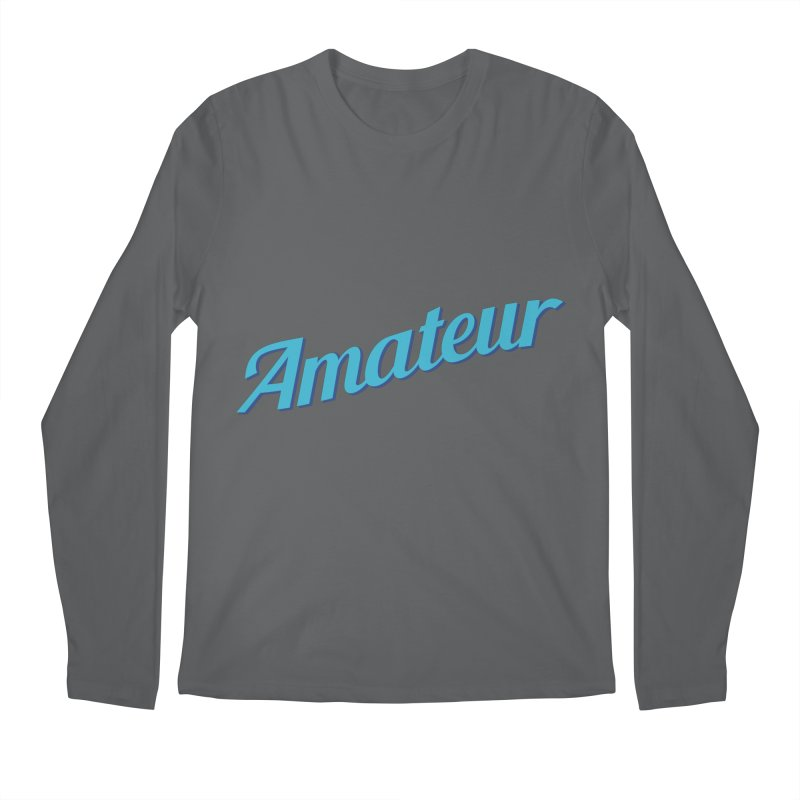 Amateur Men's Longsleeve T-Shirt by MaroDek's Artist Shop