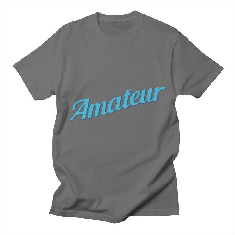 Amateur Men's T-Shirt by MaroDek's Artist Shop