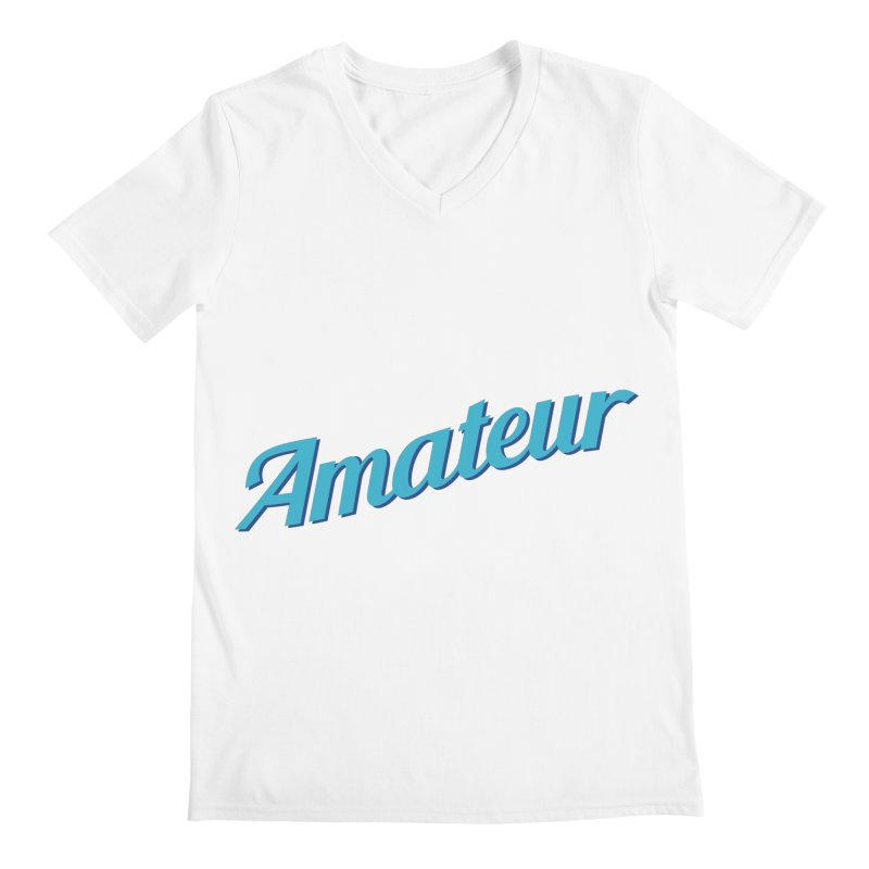 Amateur Men's V-Neck by MaroDek's Artist Shop