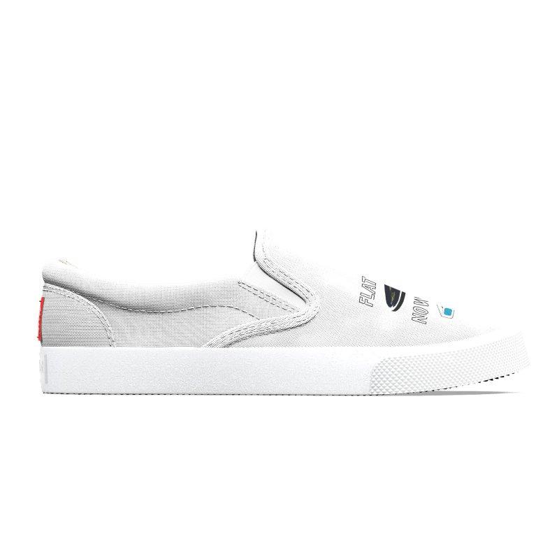 Flat Earth Now In 3D Men's Shoes by MaroDek's Artist Shop
