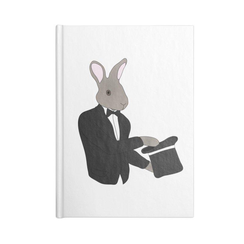 Rabbit Magician Accessories Notebook by MaroDek's Artist Shop