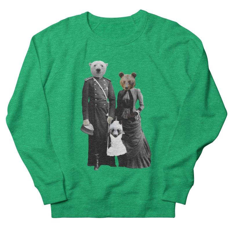 Bear Family Portrait Women's Sweatshirt by MaroDek's Artist Shop