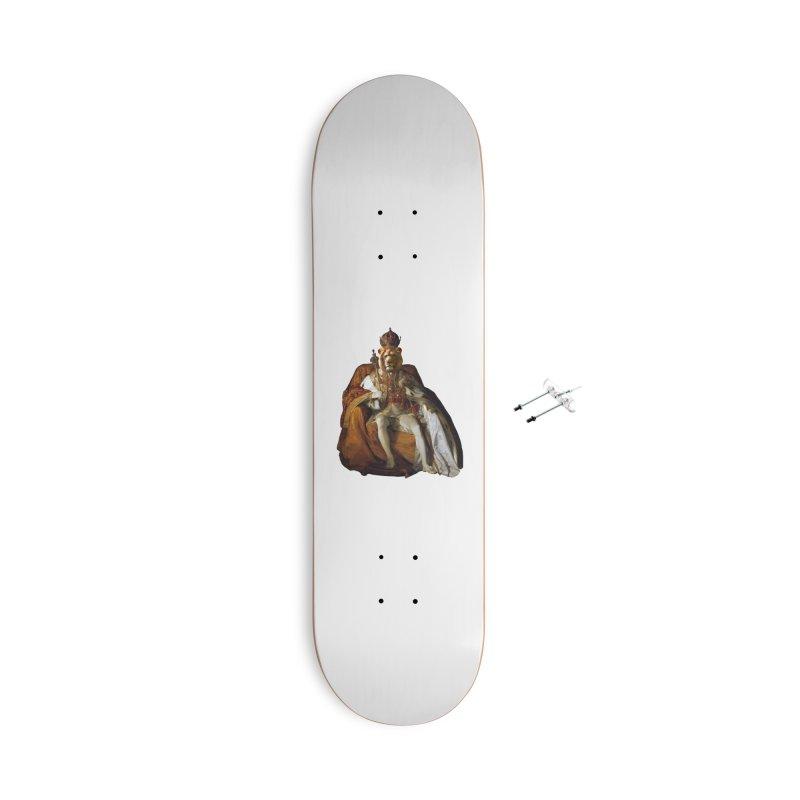 King Lion Accessories Skateboard by MaroDek's Artist Shop