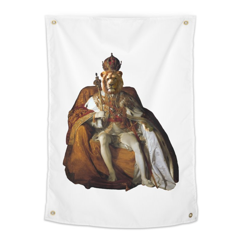 King Lion Home Tapestry by MaroDek's Artist Shop
