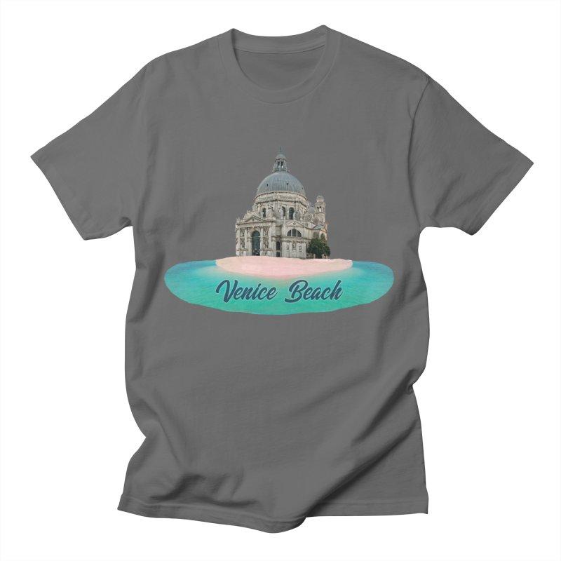 Venice Beach Men's T-Shirt by MaroDek's Artist Shop