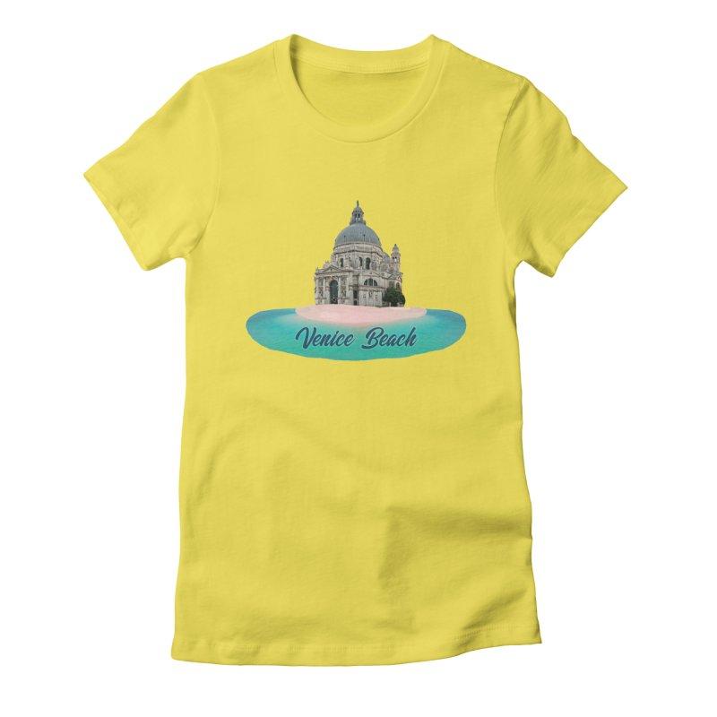 Venice Beach Women's T-Shirt by MaroDek's Artist Shop