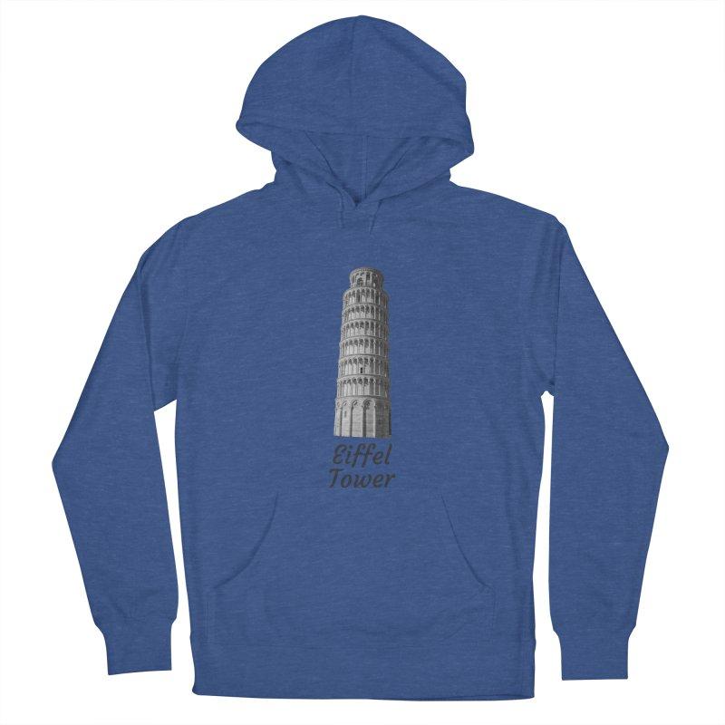 Eiffel Tower of Pisa Women's Pullover Hoody by MaroDek's Artist Shop