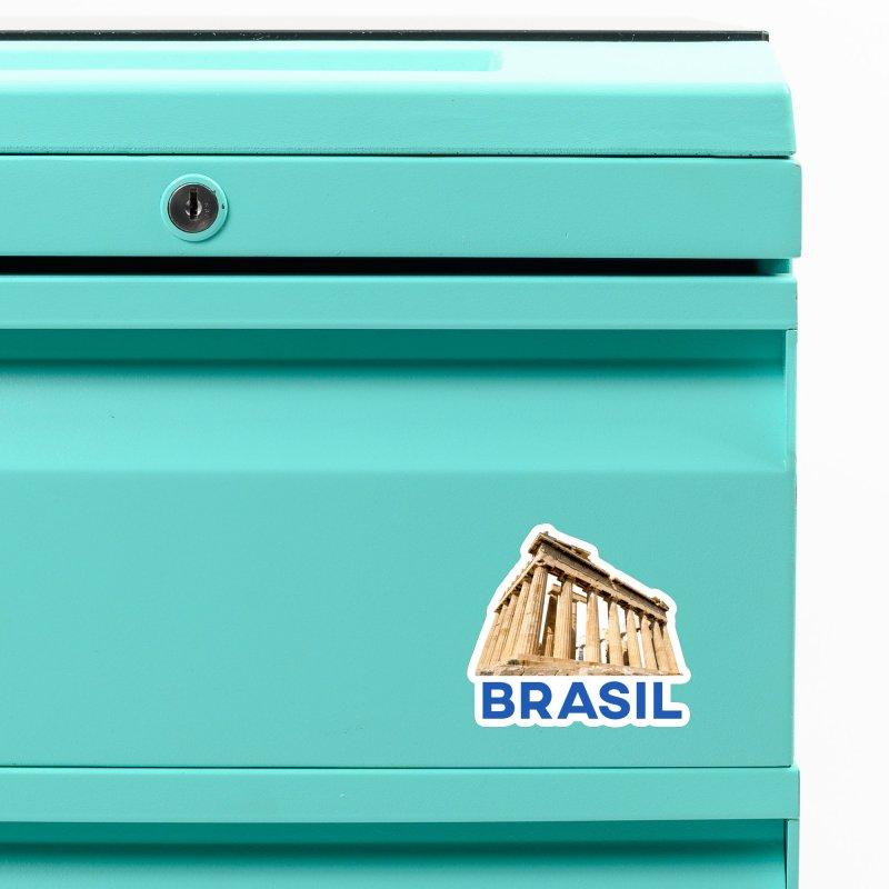 Brasil Parthenon Accessories Magnet by MaroDek's Artist Shop