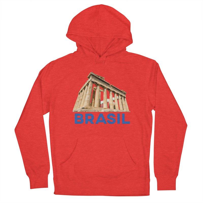 Brasil Parthenon Men's Pullover Hoody by MaroDek's Artist Shop