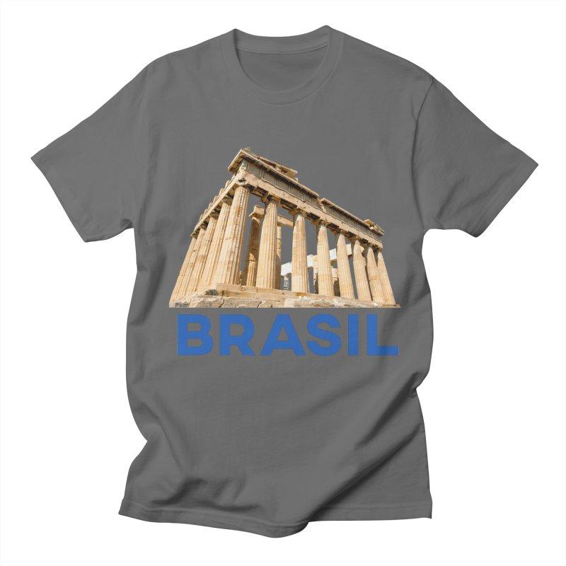 Brasil Parthenon Men's T-Shirt by MaroDek's Artist Shop
