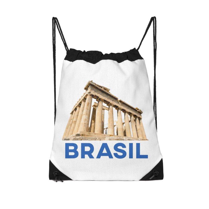 Brasil Parthenon Accessories Bag by MaroDek's Artist Shop
