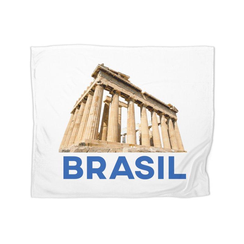 Brasil Parthenon Home Blanket by MaroDek's Artist Shop