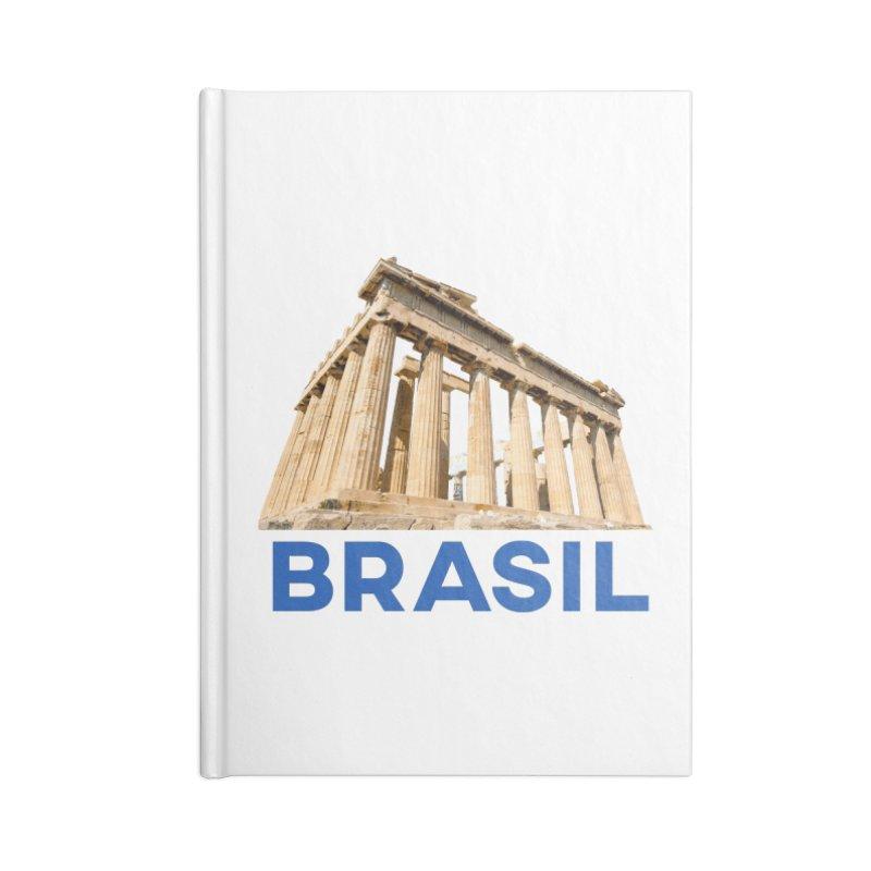 Brasil Parthenon Accessories Notebook by MaroDek's Artist Shop